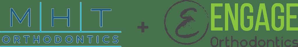 MHT Orthodontics + Engage Orthodontics logos